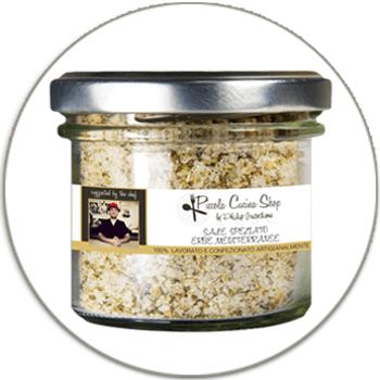 Read all: Mediterranean herbs flavoured sea salt 90GR