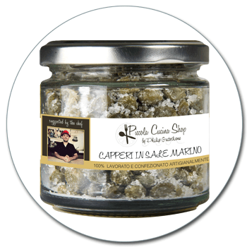 Read all: Capers in coarse sea salt 170 GR