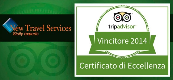Trip Advisor Excellence Award 2014 for New Travel Services