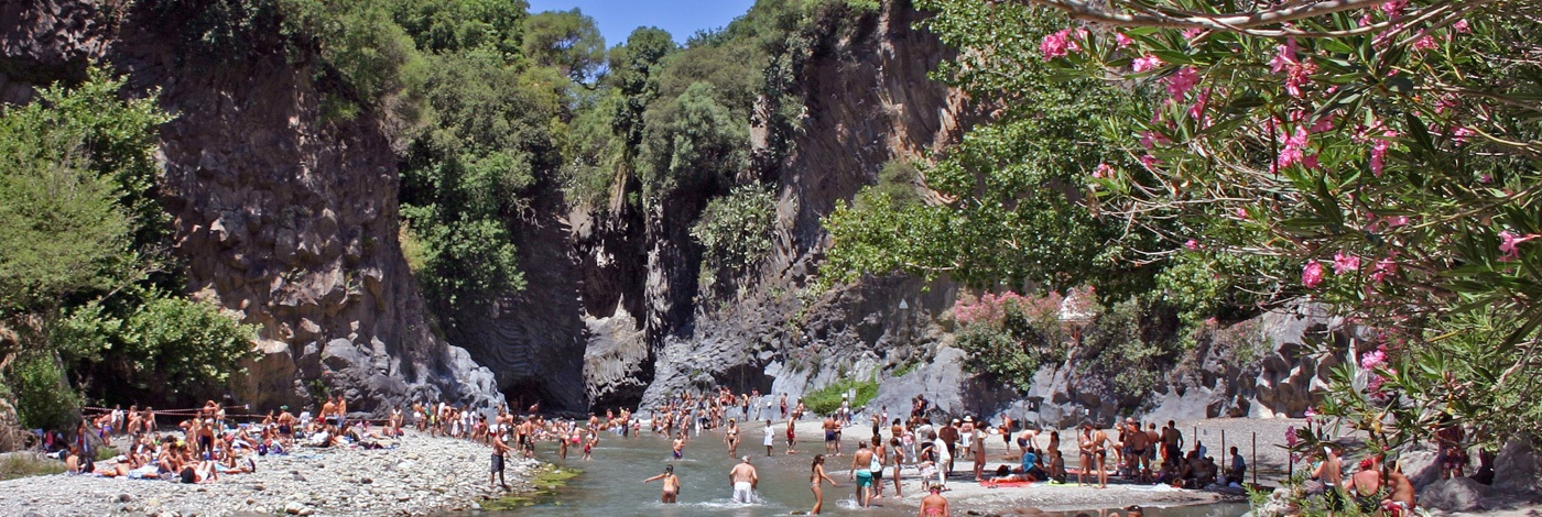 Taormina and the famous Alcantara Gorges