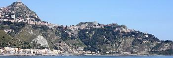 Taormina, Castelmola and Giardini Naxos